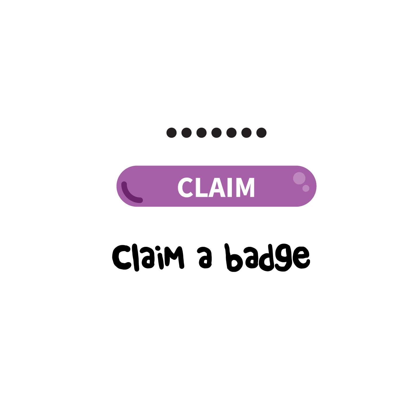 Claim a badge