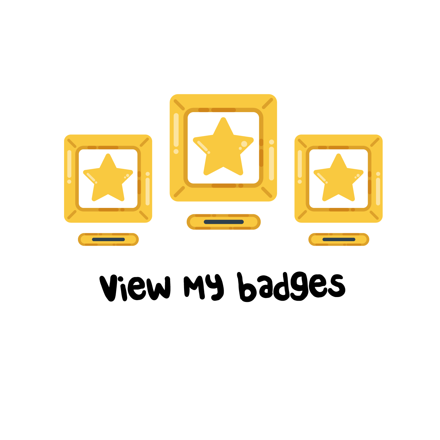 View my badges
